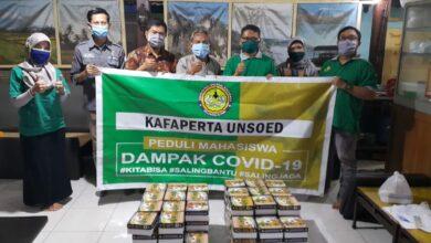 Photo of Kafaperta UNSOED Bagikan Makanan Siap Saji Gratis Untuk Mahasiswa