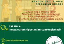 Photo of Aja Klalen! Yuk Registrasi Alumni Pertanian Unsoed