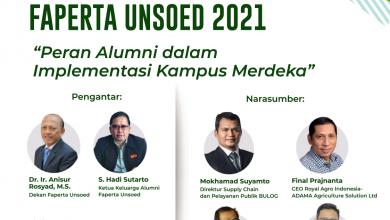 Photo of Kafaperta akan Selenggarakan Temu Alumni Nasional Faperta Unsoed 2021